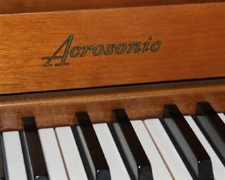 Mid Century Piano by Acrosonic
