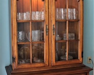 Lighted Hutch W/ Detachable Top