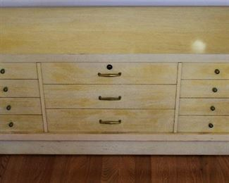 Another mid-century cedar chest, unique
