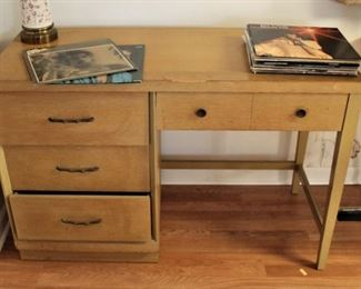 Retro mid-century desk