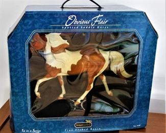 One of many Breyer Horse Collections