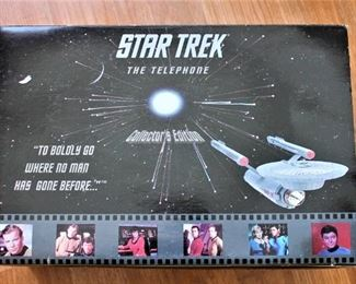 Star Trek Telephone - just a sampling of Star Trek Items
