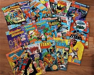 A Tiny Sampling of at least 1000 Comic Books