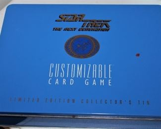 Star Trek Card Game/ New in Tin