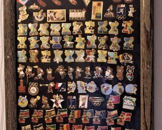 Thousands of Collectible Label Pins/ Just a Sampling