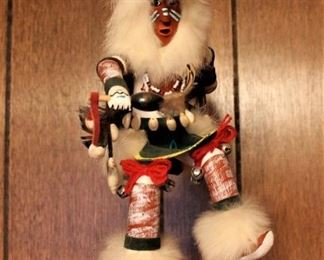 Vintage Kachina Indian Protection/Signed