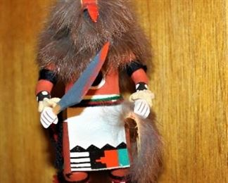 Kachina Wolf/ Signed