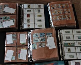 Lots of stamp books