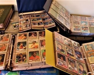Books of Baseball Cards