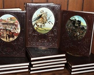 Leather Clad Western Book Collection