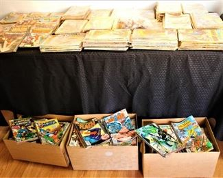 More Comics ( the glare is because they are wrapped in plastic) Comic's are in mint condition.