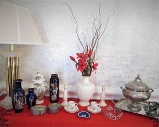 Ceramics..Modern Lamp..