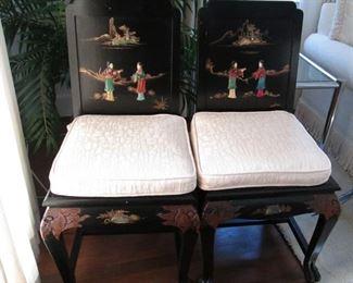 Pair Asian Chairs