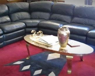 Bradington Young Leather Couch