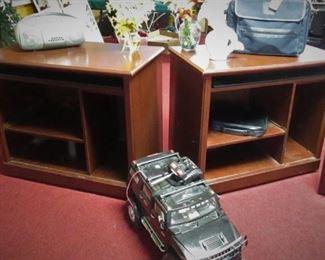 Shelf units on wheels