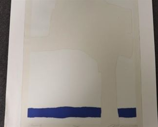 Adja Yunkers Signed Numbered Print Aegean VIII