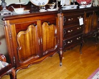 Extra Long Buffet/ Server in very good condition.  It's a beautiful piece of furniture.