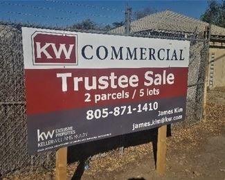 Sign facing Hwy 33 / N. Ventura Ave in Casitas Springs.