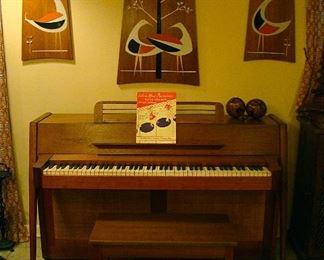 Baldwin Acrosonic  # 713635 Mid Century Modern Style