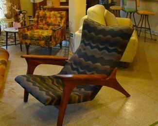 Adrian Pearsall for Craft Associates Mid Century Chair