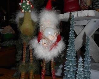 Dept 56 Krinkles - Santa & Stork