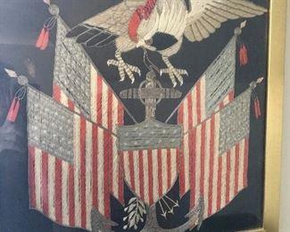 World War I commemorative needlework