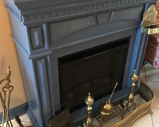Electric Fireplace and Mantle  $ 180.00