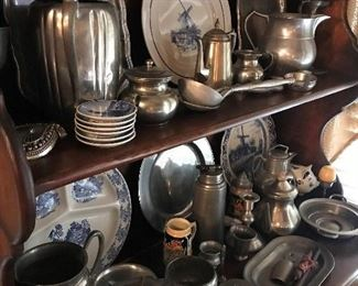 LOTS of Beautiful Pewter !!