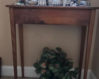 Tall Antique Accent Table $ 58.00