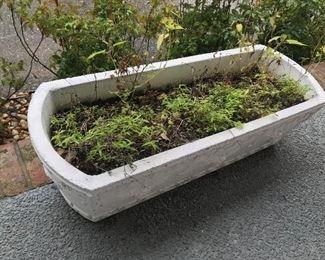 Large Concrete Planter Box $ 58.00