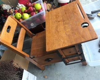 Antique School Desk $ 78.00