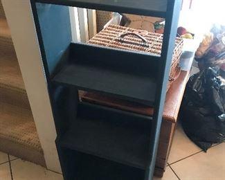 Blue Wood Display Shelf $ 48.00