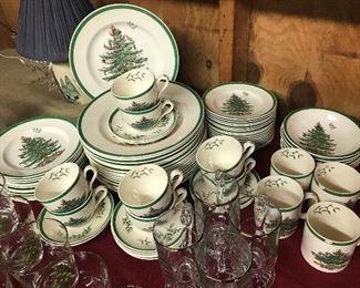 Spode Christmas Dish Set $ 180.00