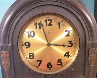 Grandfather Clock Detail