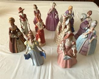 Lenox Ladies - many other Lenox pieces as well