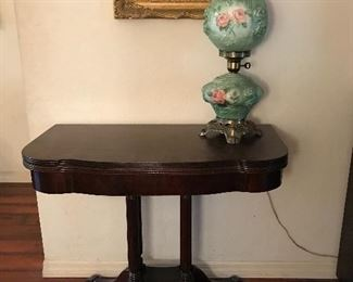 Lots of antique accent tables