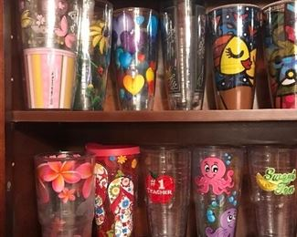 Lots of Tervis Tumblers