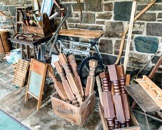 Wooden Tools, Craft