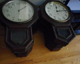 Regulator Wall Clocks, Seth Thomas, Waterbury