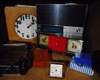 Mid Century, Vintage Clocks