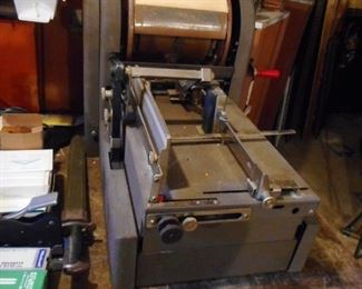 VINTAGE AB Dick & Co Mimegraph Duplicator