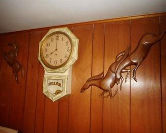 Mid Century Horse Wall Art