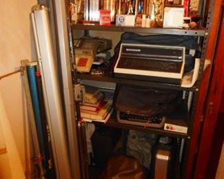 Vintage Type Writers Adding Machines
