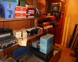 Various Vintage Electronics