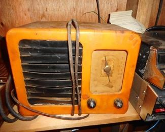 VHTF RARE..This is Emerson Radio Bakelite BIG MIRACLE BM 258 Art Deco