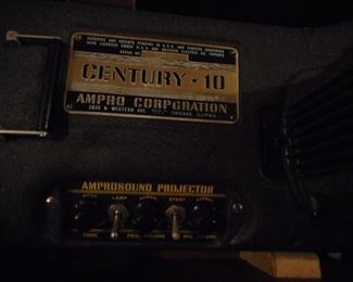 Century 10 by Ampro  Sound  Corporation