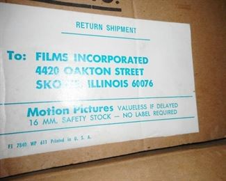 Motion Picture Films for CPS