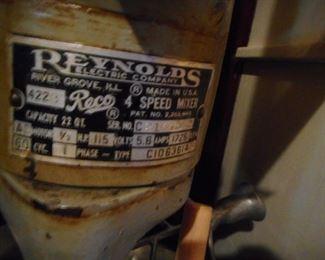 Reynolds 4 Speed Industrial Bakery Mixer