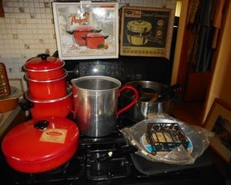 Vintage Never Used Cookware