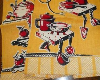 Vintage Printed Linens